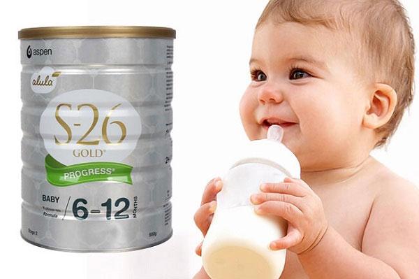 Cách pha sữa S26 đúng cách