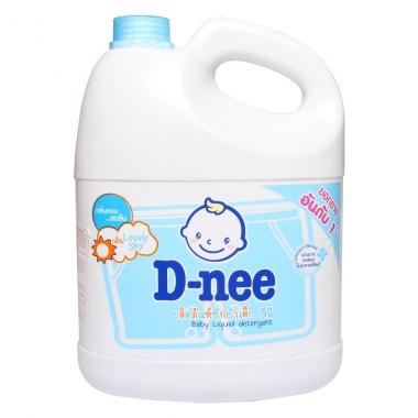 Nước giặt xả Dnee xanh 3L