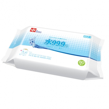 Giấy ướt LEC 99,9% nước tinh khiết SS-075 80 tờ