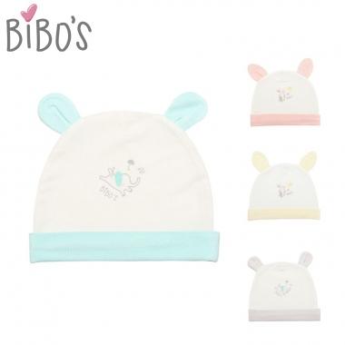 Mũ sơ sinh Bibo's sợi tre hình thú xinh xắn
