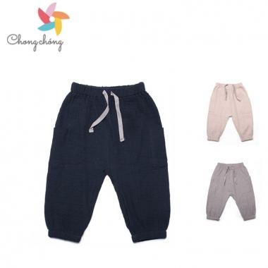 Quần dài bé trai Chong Chóng vải xô