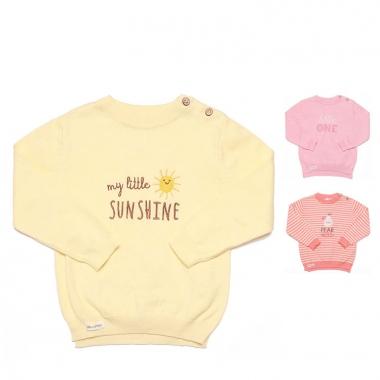 Áo len cài vai Momma little sunshine - Pear kiss - little one