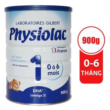 Sữa Physiolac số 1 900g (0 - 6 tháng)