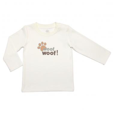 Áo dài tay cài vai bé trai Bibo's Woof Woof