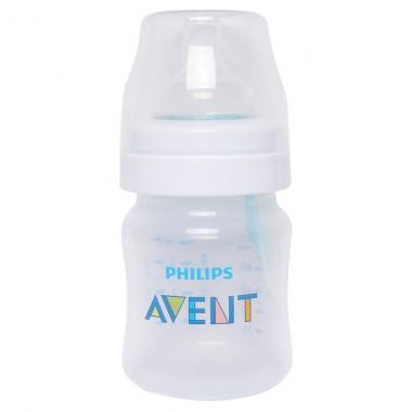 Bình sữa Philips Avent nhựa PP có van giữ sữa 125ml 810.14