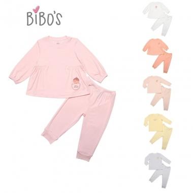 Bộ sơ sinh Bibo's sợi tre Petit hình thú dễ thương