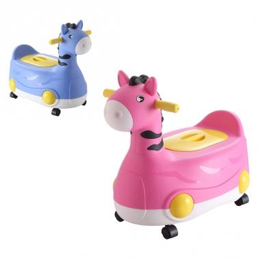Bô vệ sinh cho bé hình ngựa 828