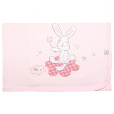 Chăn cotton Bibo's HMT431 thỏ hồng