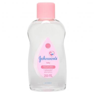 Dầu mát-xa và dưỡng ẩm Johnson's baby Oil 200ml