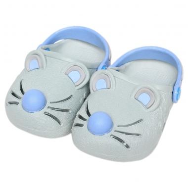 Giày nhựa JiaJiaBear chuột ghi