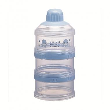 Hộp chia sữa KuKu Duckbill 3 ngăn Ku5318
