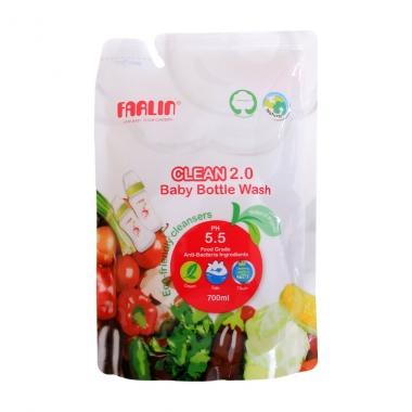 Nước rửa bình sữa sinh thái Farlin 700ml AF10005