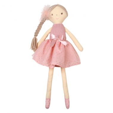 Búp bê bông công chúa váy hồng 75829