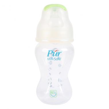 Bình sữa Pur Milk Safe cổ rộng 250ml PUR9812