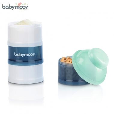 Hộp chia sữa Babymoov 4 tầng màu xanh lơ BM14740