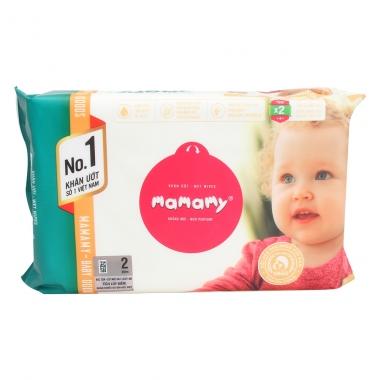 Giấy ướt Mamamy gói bổ sung (80 tờ)