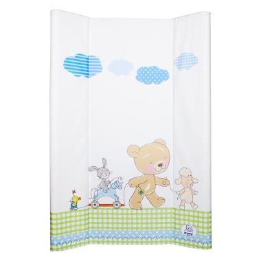 Đệm thay tã Rotho Babydesign White Bestfriends thành cao 50 x 70 cm