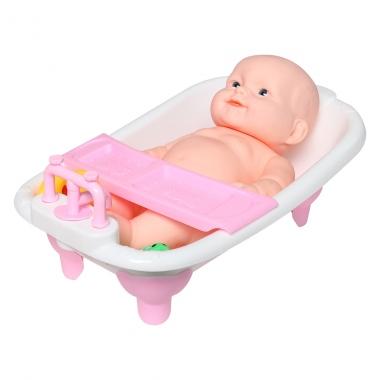 Đồ chơi búp bê chậu tắm 1412