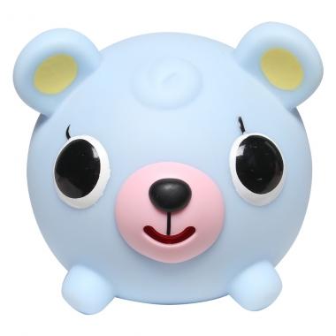 Đồ chơi bóp chíp quả bóng Sankyo Toys hình con gấu