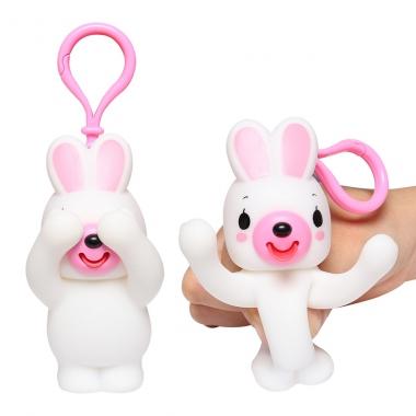 Đồ chơi bóp chíp ú òa Sankyo Toys hình thỏ
