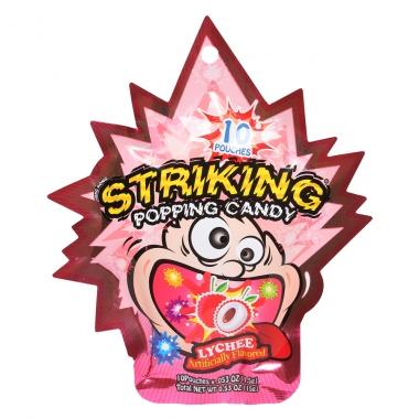 Kẹo nổ Striking vị vải lychee 15g