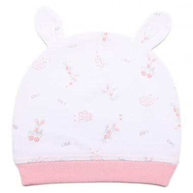 Mũ sơ sinh Bibo's bé gái C30 in tràn hồng