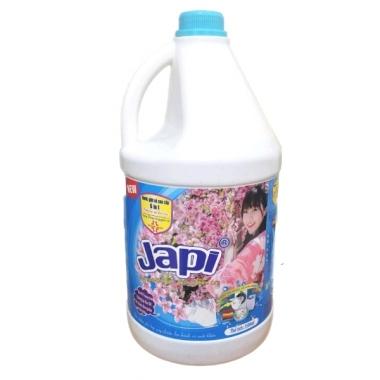 Nước giặt xả Japi hương hoa anh đào trắng 3.5L