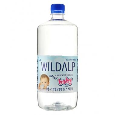 Nước khoáng thiên nhiên không ga Wildalp Baby 1L