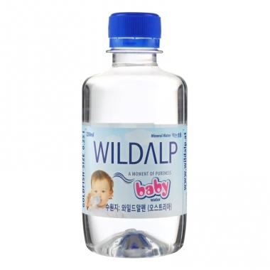 Nước khoáng thiên nhiên không ga Wildalp Baby 250ml