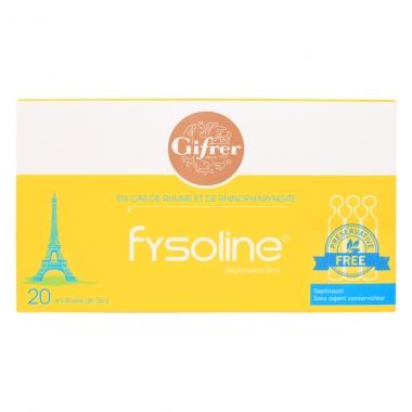Nước muối đặc trị sổ mũi Fysoline (vỉ 10 ống)