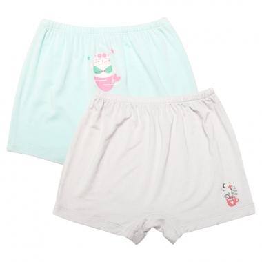 Set 2 quần chíp Chong Chóng ghi - xanh