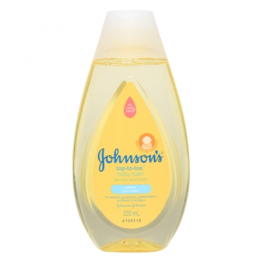 Sữa tắm gội Johnson's baby Top to toe 200ml